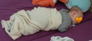 Babydecke Merino Schurzwolle von Sonnenstrick