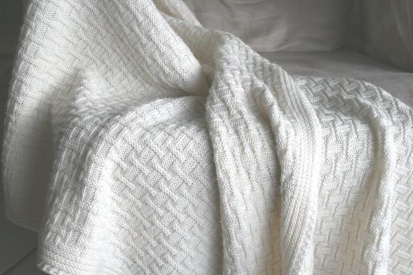 Babydecke bio Merino-Wolle von Sonnenstrick