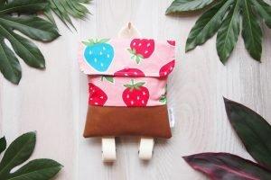 Parchower Nadel Kinderrucksack Erdbeeren
