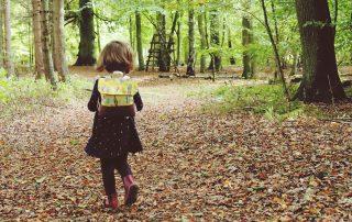 Parchower Nadel Kinderrucksack gelb Federn