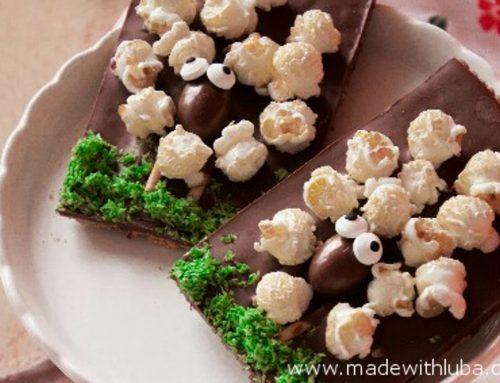 Schäfchen-Schokotafeln – eine süße Idee nicht nur für das Osternest!