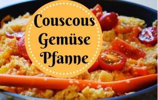Vegane Gemüse Pfanne mit Couscous
