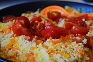 Vivabini vegane couscous-gemüse-pfanne