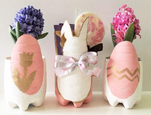 Gastbeitrag von DIYdekoideen: Osterkörbchen aus PET-Flaschen