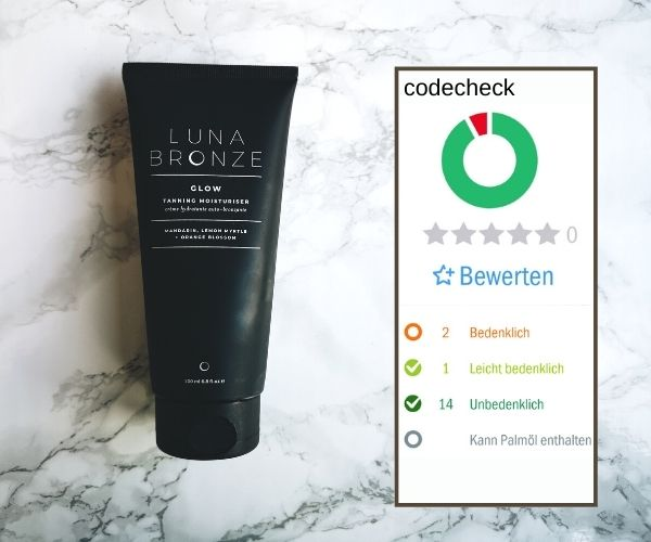 Luna Bronze Bräunungslotion codecheck info