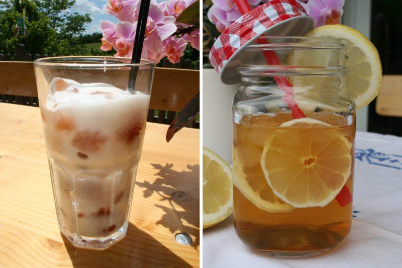 Eistee Rezept mit Evas Teeplantage für Schwangere