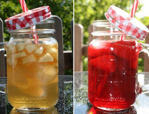 Eistee Rezepte mit Evas Teeplantage #2: fruchtige Kindercocktails