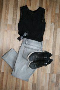 Faustregel des Sneaker styling: Kontraste setzen