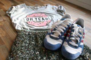 Sneaker styling: Stilbrüche wirken lässig
