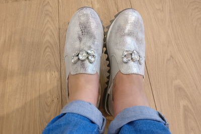 Sneaker styling: Trendsneaker in Szene setzen mit Flanking