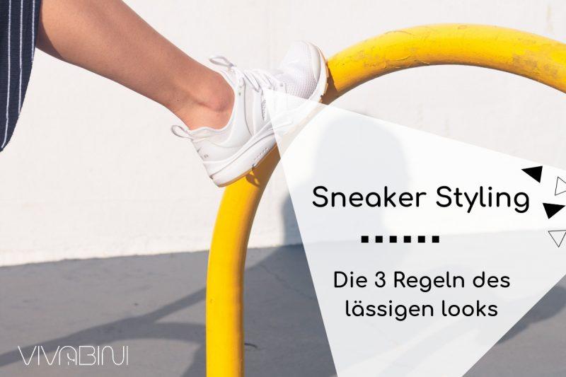Sneaker stylen die drei Regeln des lässigen Looks