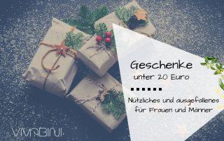 Nützliche und ausgefallene Geschenkideen für Frauen und Männer unter 20 Euro