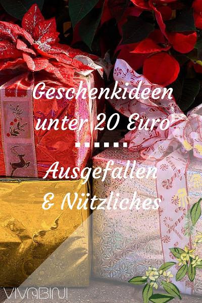 Geschenk unter 20 �