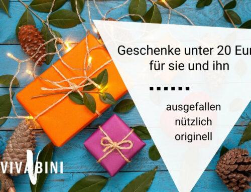 Geschenkideen unter 20 Euro: Nützliches und ausgefallenes für Frauen und Männer