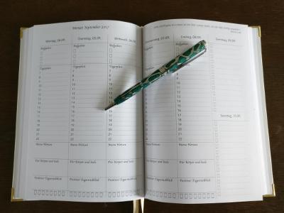 My lovely Planner mit standardisierten Wochenübersichten
