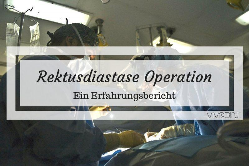 Rektusdiastase Operation Erfahrung