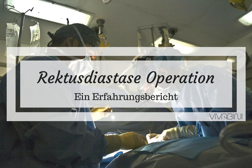 Rektusdiastase Operation: Mein Erfahrungsbericht