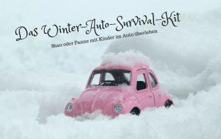 Winter Auto Survival Kit_Überleben mit Kinder
