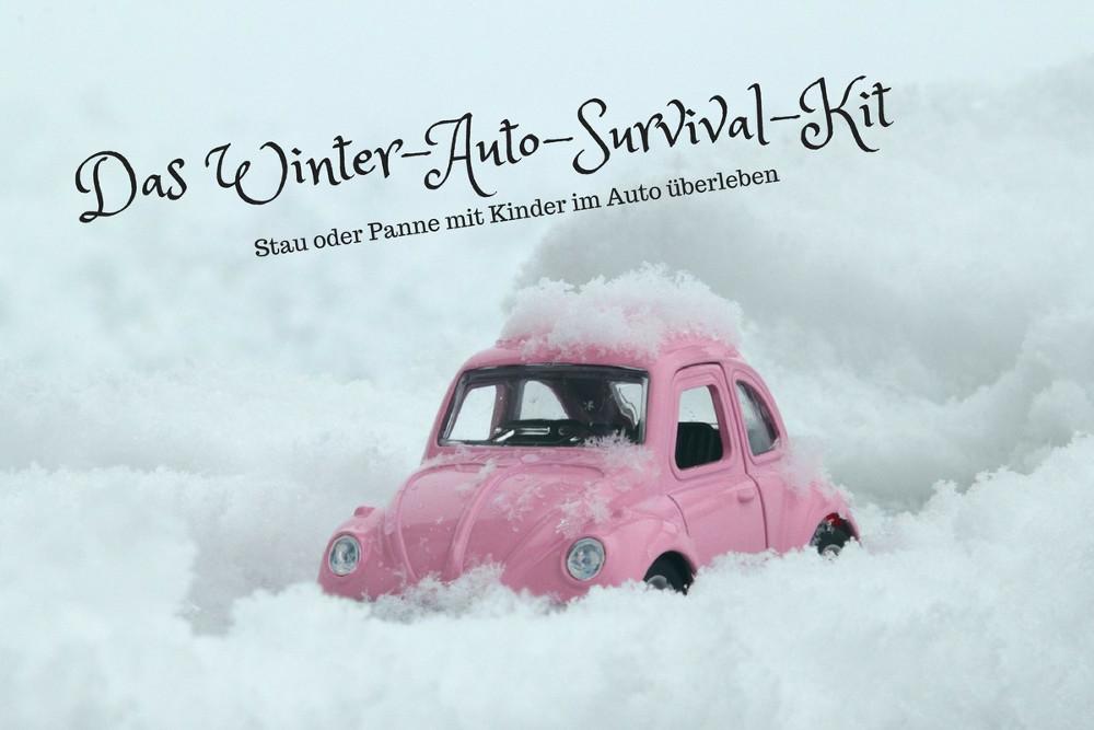 Das Winter-Auto-Survival-Kit: Stau und Pannen mit Kindern überleben