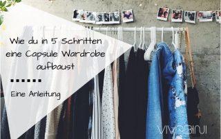 Anleitung Aufbau Capsule Wardrobe