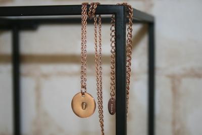 Halskette mit Initialien von Oh Bracelet Berlin