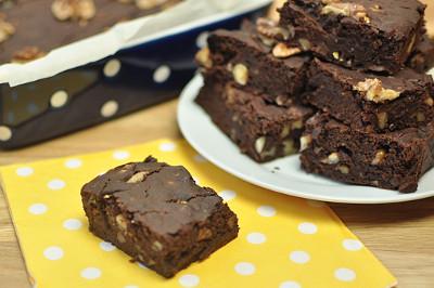 vegane Kuerbis Brownies