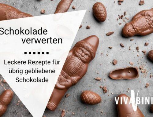 Schokolade verwerten oder: Wie werde ich sie los in 10 Rezepten