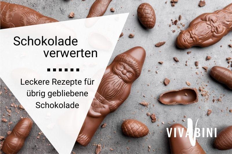 Rezepte mit übrig gebliebener Schokolade