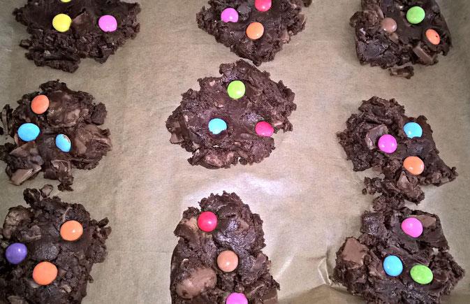 Schoko-Cookies von Sush testet