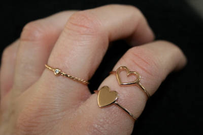 minimalistische Ringe von Oh Bracelet Berlin