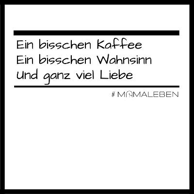 Vivabini Shirt Kaffee Wahnsinn Liebe