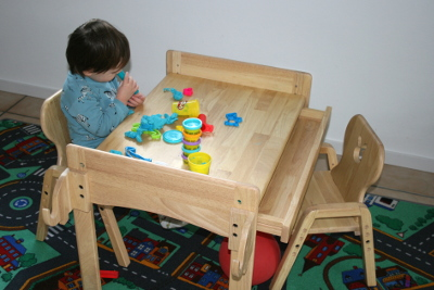 Kindersitzgarnitur Massivholz von MesaSilla