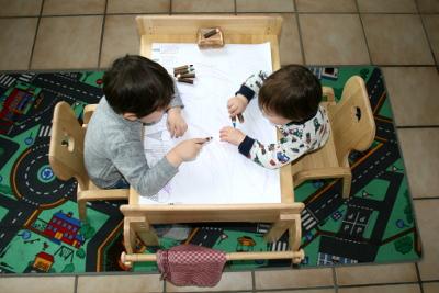 MesaSilla Kindersitzgruppe Platz für Zwei