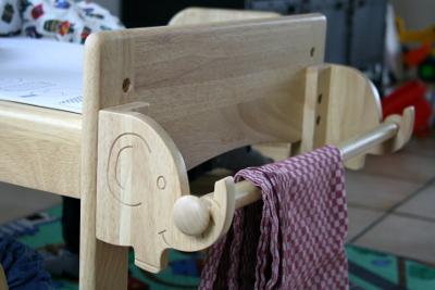 MesaSilla Kindertisch mit Elefanten Haken