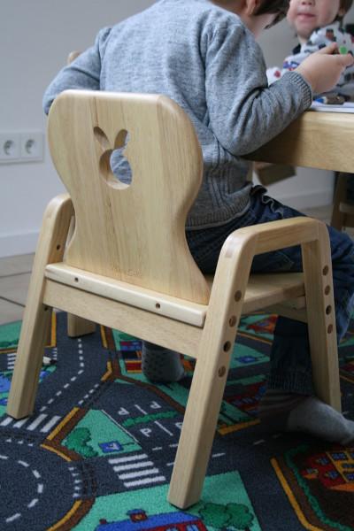 MesaSilla mitwachsender Kinderstuhl aus Massivholz