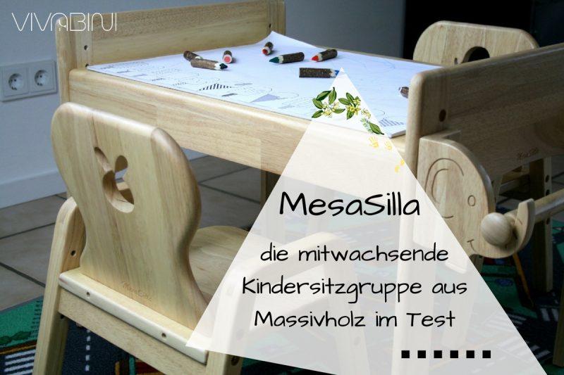 Mitwachsende Kindersitzgarnitur von MesaSilla im Test