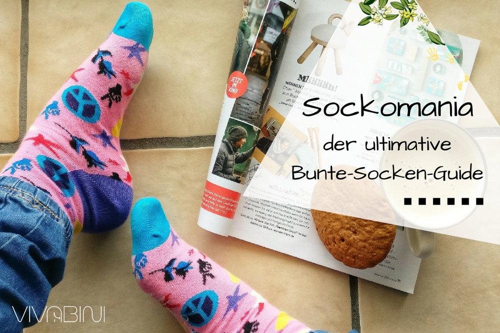 Sockomania: geile, ausgefallene, bunte Socken. Der ultimative Socken-Guide!