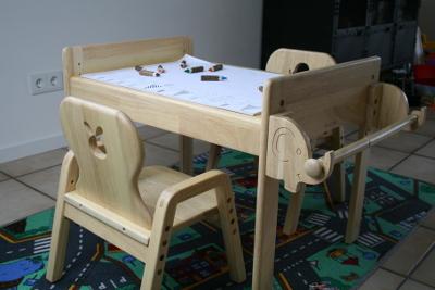 mitwachsende Kindersitzgruppe von MesaSilla aus Massivholz