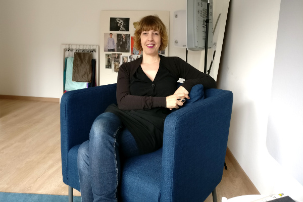 Caroline Fischer von Talent and Soul in ihrem Studio