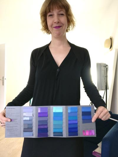 Farbberatung bei Caroline Fischer von Talent and Soul