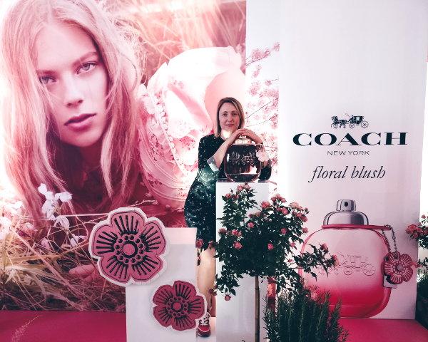 Fotocorner von Coach auf dem Glamour Beauty Festival