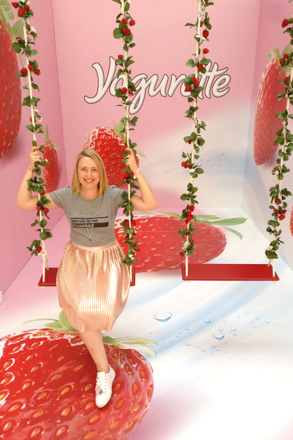 Glamour Beauty Festival und Yogurette Photo Booth