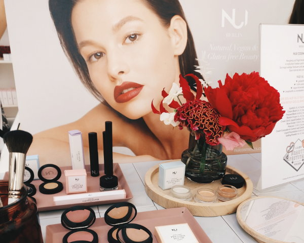 Nui Cosmetics auf dem Glamour Beauty Festival