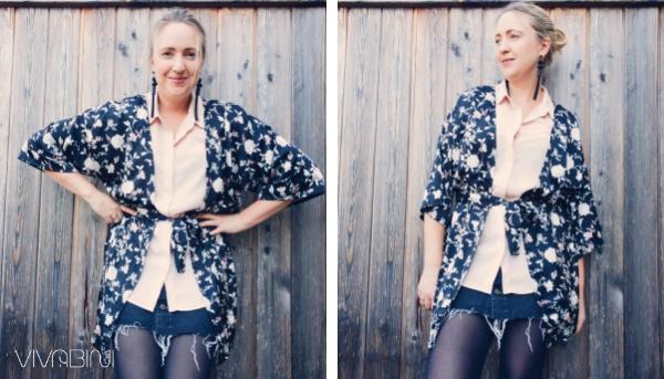 Stylomom Look Kimono