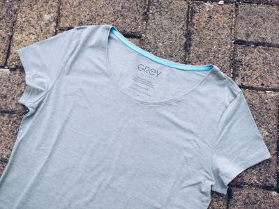Grey Fashion T-Shirt aus Vitadylan