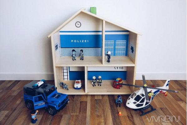 Limmaland DIY Polizeistation Klebefolien
