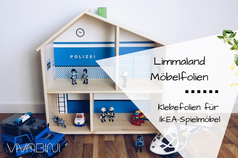 Limmaland-Klebefolien für Ikea-Möbel oder: Playmobil-Polizeistation selber basteln für Dummies