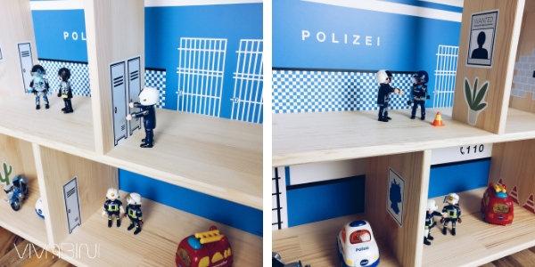 Limmaland diy Polizeitstation aus Ikea Puppenhaus
