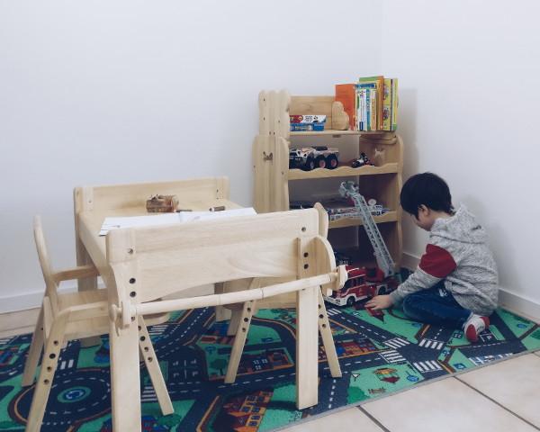 Kinder Spiel- und Kreativecke mit MesaSilla Kindermöbel