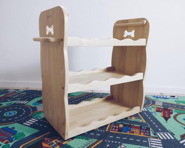MesaSilla Spielzeugregalnaus Massivholz